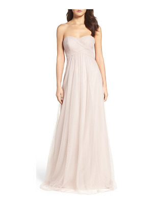 WTOO strapless tulle gown
