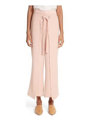 YIGAL AZROUEL Tie Front Wrap Pants