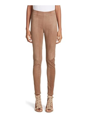 ZERO + MARIA CORNEJO Lambskin Leather Skinny Pants