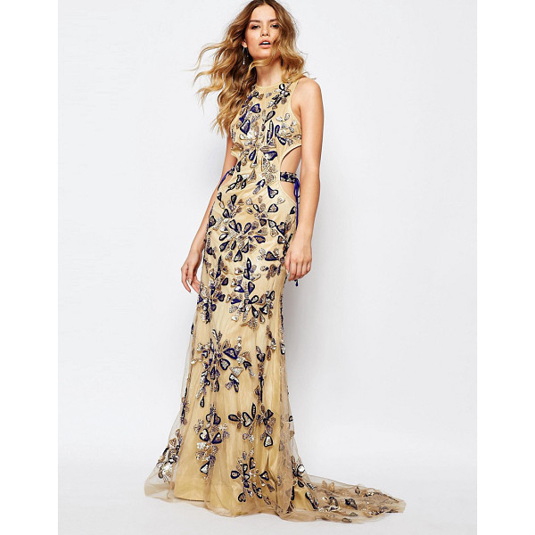 A STAR IS BORN All over luxe embellished maxi dress with tie sides - Evening dress by A Star Is Born Woven fabric Fully lined...
