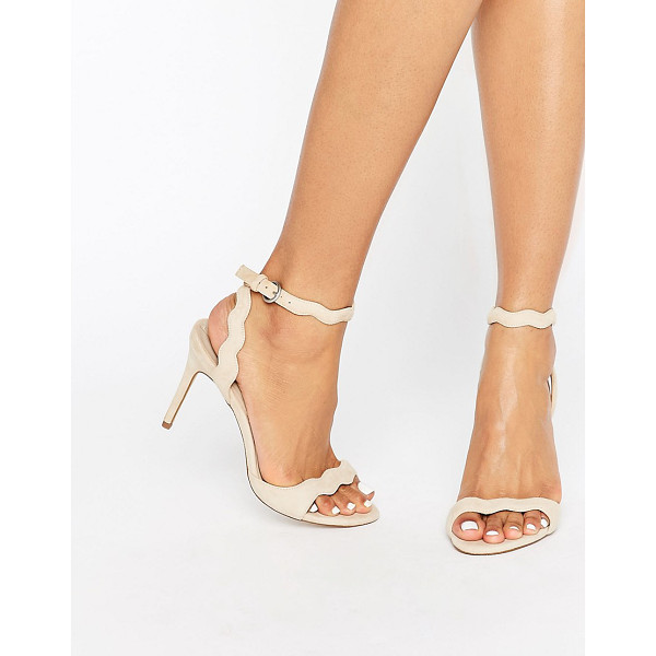 ALDO Carine Barely There Heeled Sandal - Shoes by ALDO, Faux-suede upper, Ankle-strap fastening,...