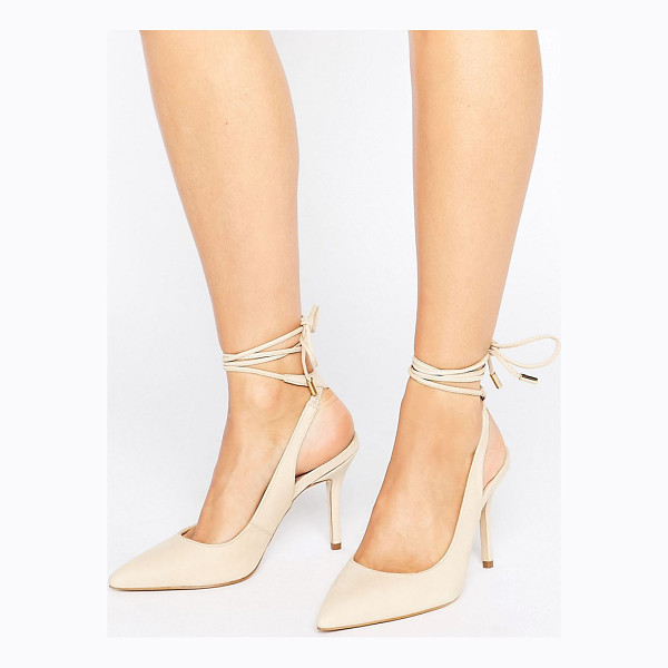 ALDO Kalala Tie Up Pumps - Shoes by ALDO, Smooth leather upper, Lace-up fastening,...