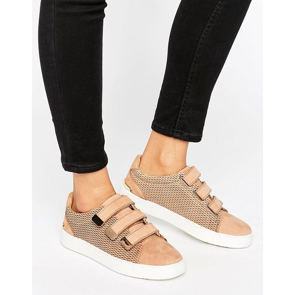 ALDO Multi Strap Sneakers - Shoes by ALDO, Leather upper, Adhesive strap fastening,...