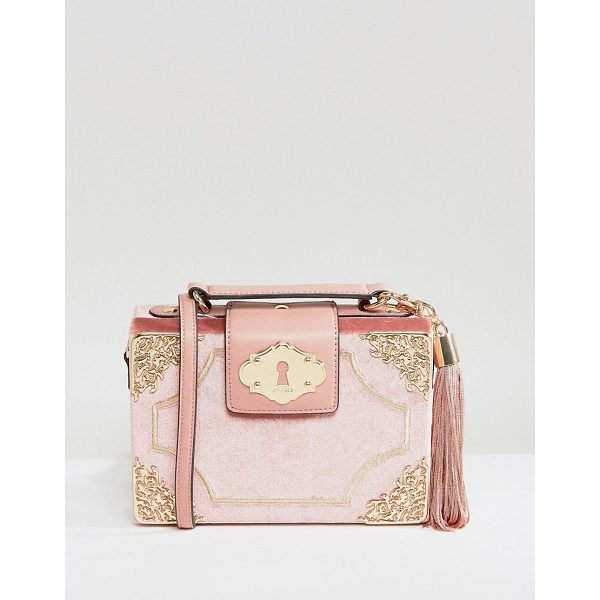 """ALDO Zosimo Blush Mini Cross Body Bag - """"""""Cart by ALDO, Soft-touch fabric outer, Fully lined, Grab..."""