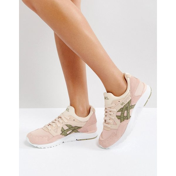 ASICS Gel-Lyte V Sneakers In Pink - Sneakers by Asics, Textile upper, Breathable design, Suede...