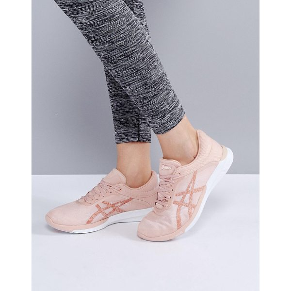 ASICS Running Fuze X Rush Sneakers In Pale Pink - Sneakers by Asics, Breathable upper, Lace-up design,...