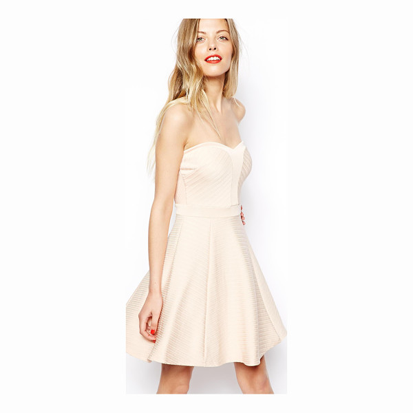 ASOS Bandage skater dress - Machine Wash According To Instructions On Care Label. Main:...