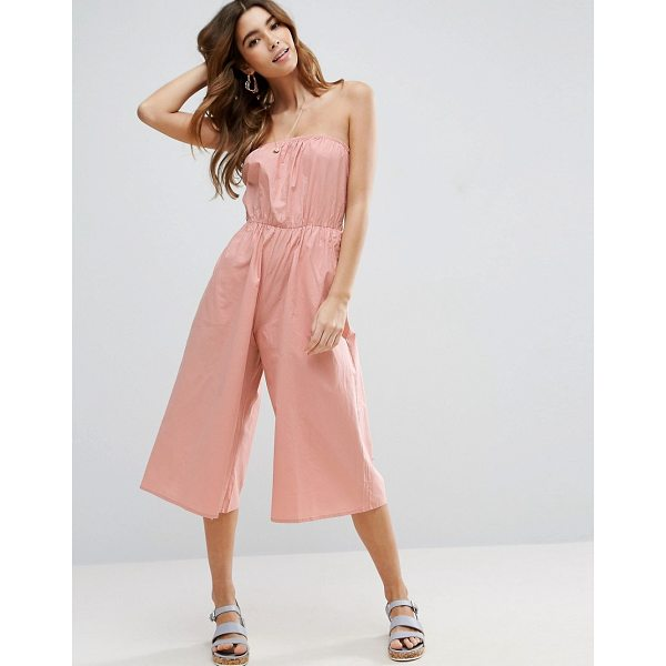 "ASOS Bandeau Jumpsuit in Cotton - """"Jumpsuit by ASOS Collection, Lightweight cotton, Bandeau..."