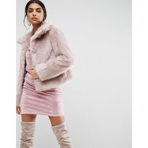 "ASOS Chubby Vintage Faux Fur Coat - """"Coat by ASOS Collection, Faux fur, Heavyweight design,..."