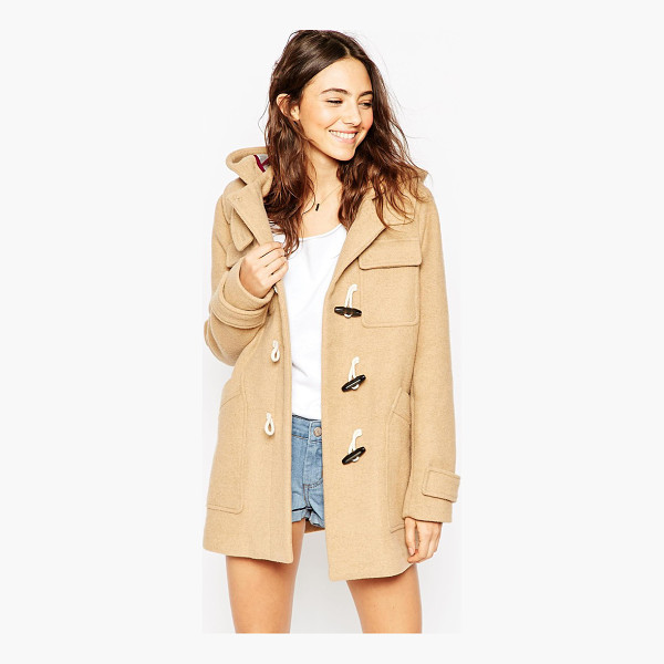 ASOS Classic duffle coat - Coat by ASOS Collection, Mid-weight wool-mix fabric,...