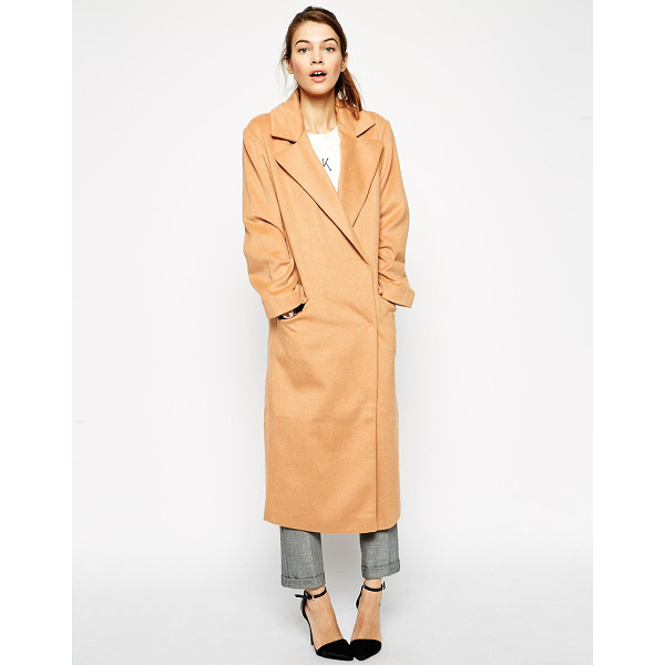 ASOS Coat in oversized fit - Coat by ASOS Collection Lightweight woven fabric Wide-cut,...
