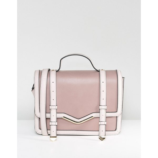 "ASOS Color Block Satchel Bag - """"Bag by ASOS Collection, Faux leather outer, Fully lined,..."