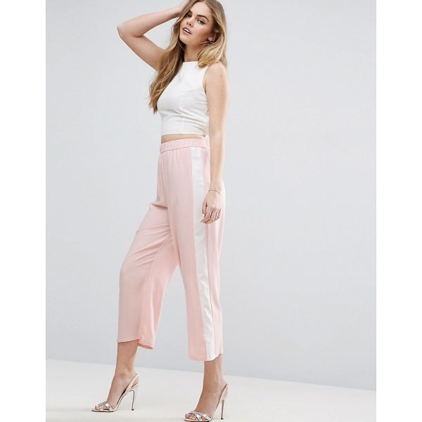 """ASOS Color Block Wide Leg Pants - """"""""Pants by ASOS Collection, Lightweight woven fabric,..."""