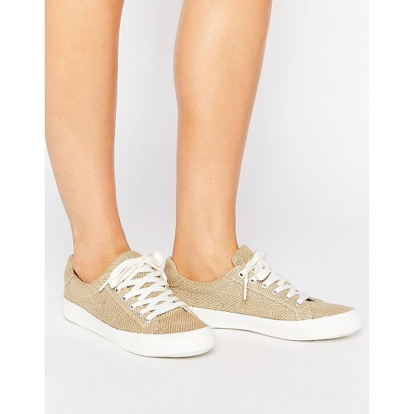 ASOS DARBY Lace Up Sneakers - Sneakers by ASOS Collection, Woven textile upper, Lace-up...