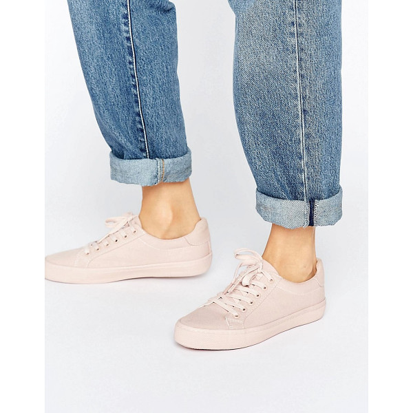 ASOS DARBY Lace Up Sneakers - Sneakers by ASOS Collection, Textile upper, Lace-up design,...