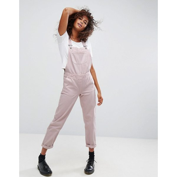 "ASOS Denim Overall in Washed Pink - """"Overalls by ASOS Collection, Non-stretch denim, Classic..."
