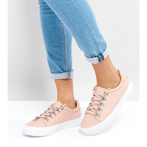 ASOS DINOMITE Hiker Sneakers - Sneakers by ASOS Collection, Faux-leather upper, Lace-up...