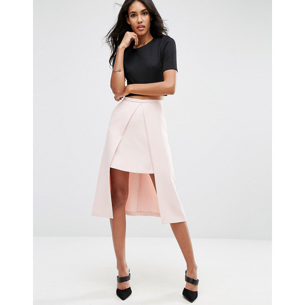"""ASOS Double Layer Prom Skirt - """"""""Skirt by ASOS Collection, Woven fabric, High-rise..."""