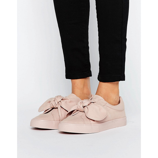 ASOS DOUGHNUT Bow Sneakers - Sneakers by ASOS Collection, Textile upper, Slip-on design,...
