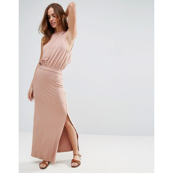 "ASOS Drop Armhole Casual Maxi Dress - """"Maxi dress by ASOS Collection, Stretch jersey, High crew..."