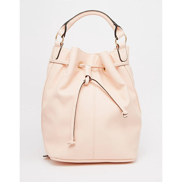 ASOS Duffle Backpack - Cart by ASOS Collection, Faux-leather outer, External...