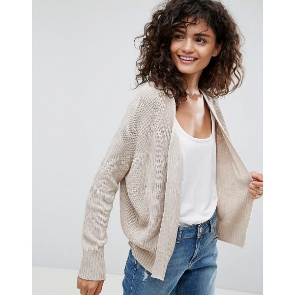 "ASOS ECO Cardigan In Super Soft Yarn - """"Cardigan by ASOS Collection, Made with recycled..."