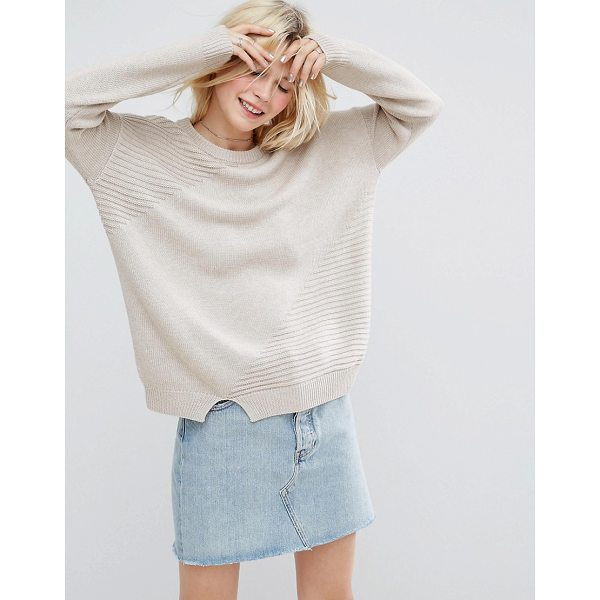 """ASOS ECO Sweater In Super Soft Yarn - """"""""Sweater by ASOS Collection, Made with recycled polyester,..."""
