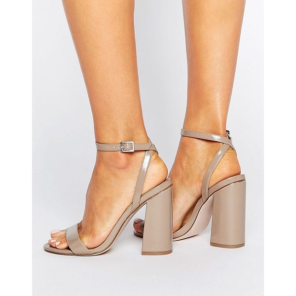 """ASOS HAMPSTEAD High Heels - """"""""Heels by ASOS Collection, High-shine faux-leather upper,..."""