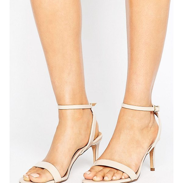 "ASOS HIDEAWAY Wide Fit Heeled Sandals - """"Sandals by ASOS Collection, Faux-leather upper,..."