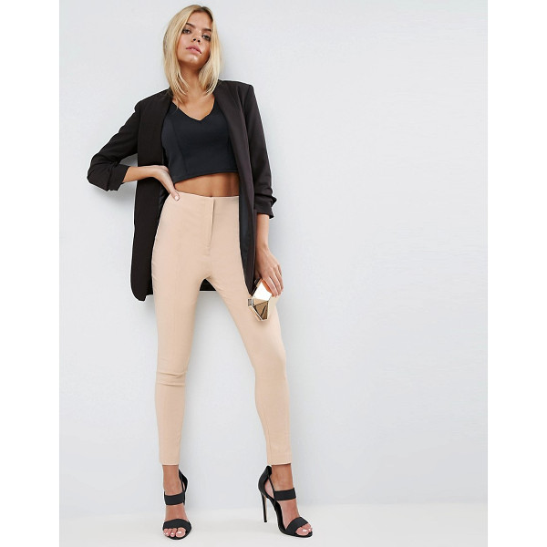 "ASOS High Waist Pants In Skinny Fit - """"Pants by ASOS Collection, Lightweight woven fabric, Added..."