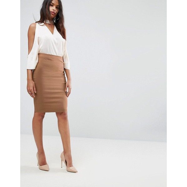"ASOS High Waisted Pencil Skirt - """"Pencil skirt by ASOS Collection, Smooth woven fabric,..."