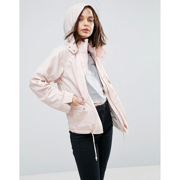 """ASOS Hooded Summer Jacket - """"""""Jacket by ASOS Collection, Midweight lightly textured..."""