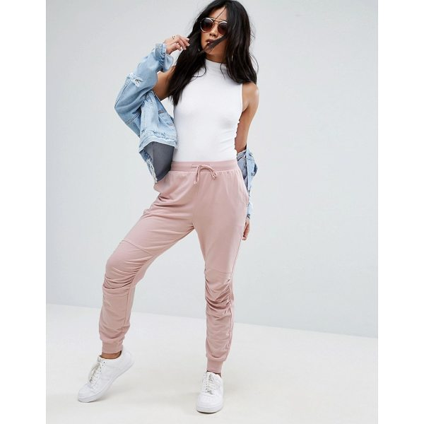 "ASOS Jogger With Ruched Detail - """"Sweatpants by ASOS Collection, Soft-touch sweat,..."