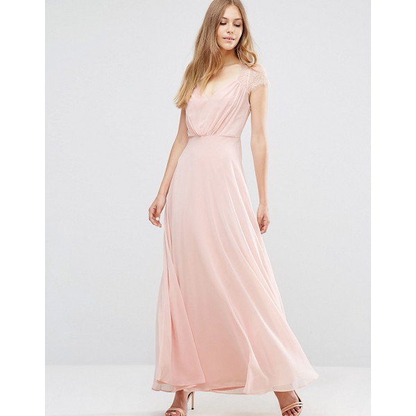 ASOS Kate Lace Maxi Dress - Maxi dress by ASOS Collection, Woven chiffon, Fully lined,...