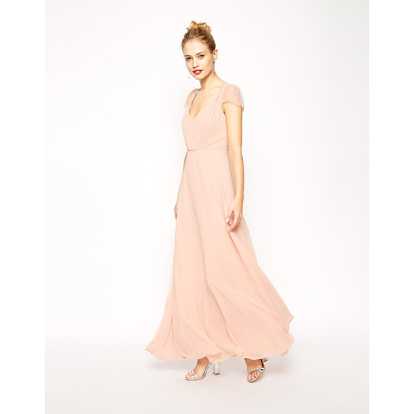 ASOS Kate Lace Maxi Dress - Maxi dress by ASOS Collection, Silky feel, semi-sheer fine...