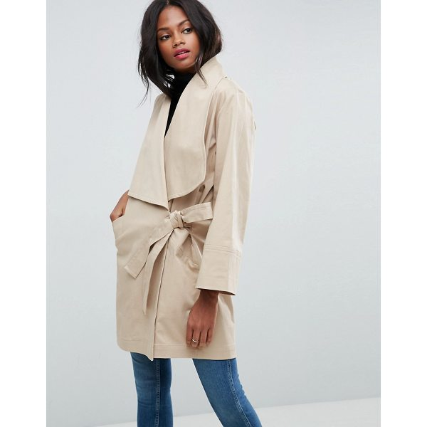"""ASOS Kimono Trench - """"""""Trench by ASOS Collection, Woven cotton, Added stretch..."""
