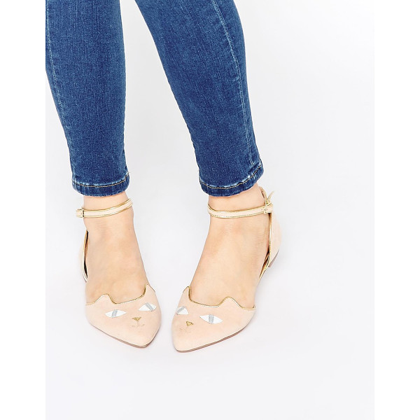 ASOS Lexi ballet flats - Flat shoes by ASOS Collection Suede look upper Pointed toe...