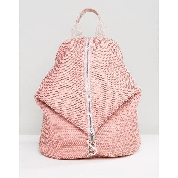 "ASOS LIFESTYLE Mesh Dogclip Backpack - """"Backpack by ASOS Collection, Textured outer, Mesh..."