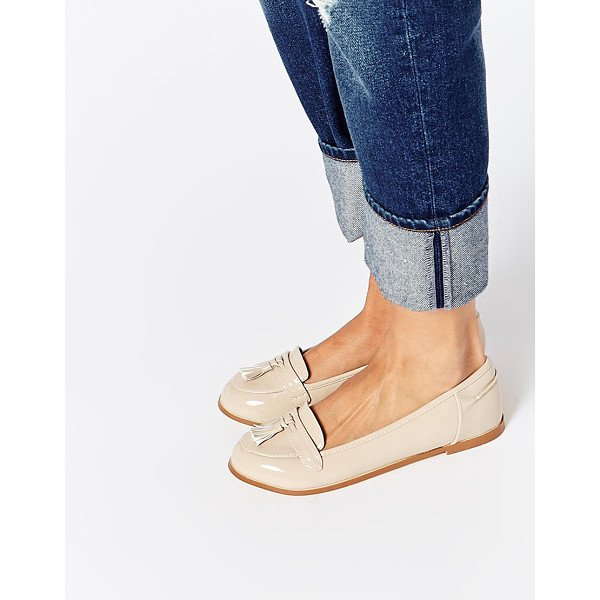 ASOS Magician loafers - Shoes by ASOS Collection Leather-look upper Glossy finish...
