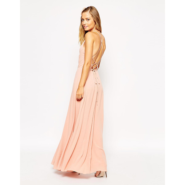 "ASOS Maxi Dress with Tie Back - """"Dress by ASOS Collection, Mid-weight woven fabric,..."