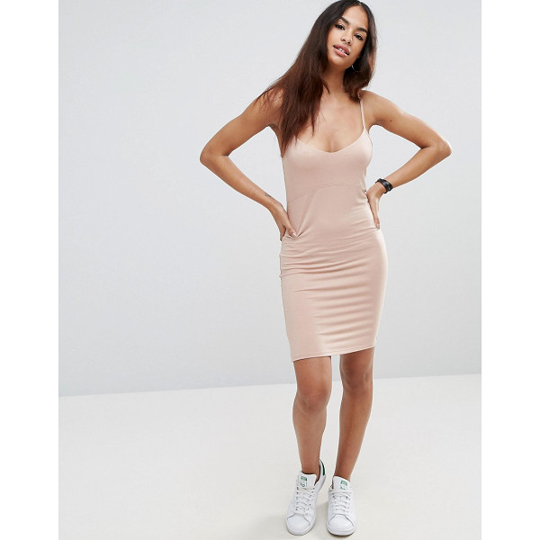 "ASOS Mini Cami Bodycon Dress - """"Bodycon dress by ASOS Collection, Soft-touch jersey,..."