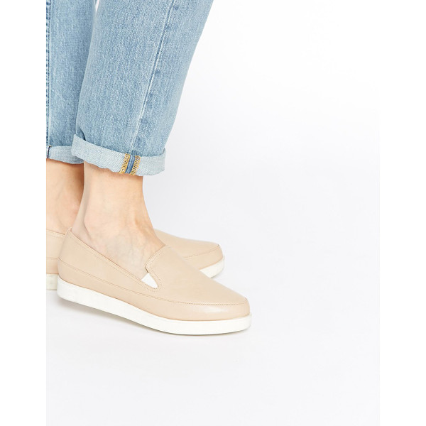 ASOS Molly rose flat shoes - Flat shoes by ASOS Collection, Leather-look upper, Smooth...