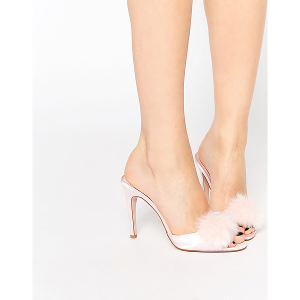 ASOS Nooky sexy heeled slippers - Heels by ASOS Collection Smooth, silky-feel upper Slip-on...