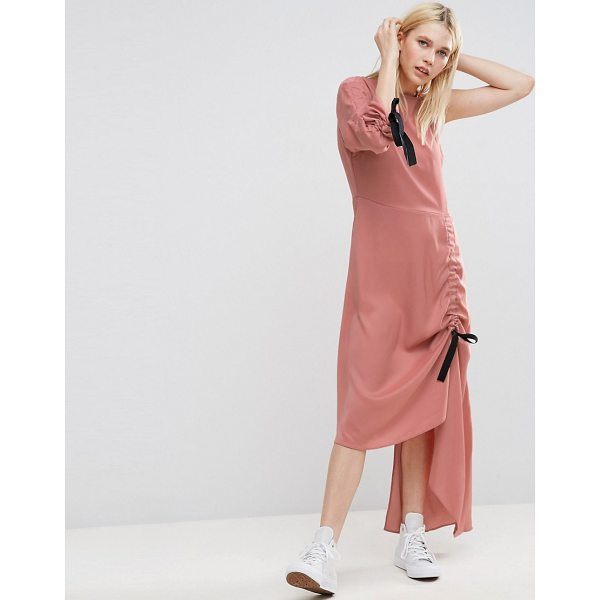 "ASOS One Shoulder Maxi Dress - """"Maxi dress by ASOS Collection, Soft-touch fabric, Boat..."