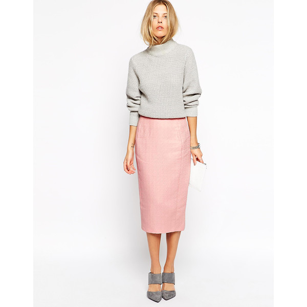 ASOS Pencil skirt in texture - Skirt by ASOS Collection Textured fabric High-rise waist...