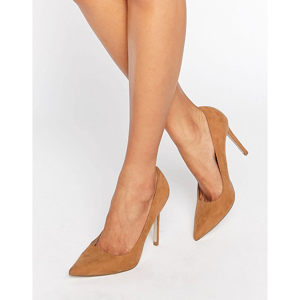 ASOS PERU Pointed High Heels - Heels by ASOS Collection, Textile upper, Slip-on style,...