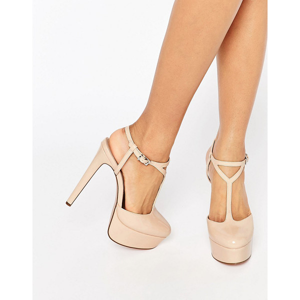 ASOS PLAY IT UP Platforms - Platform shoes by ASOS Collection, Faux-leather upper,...
