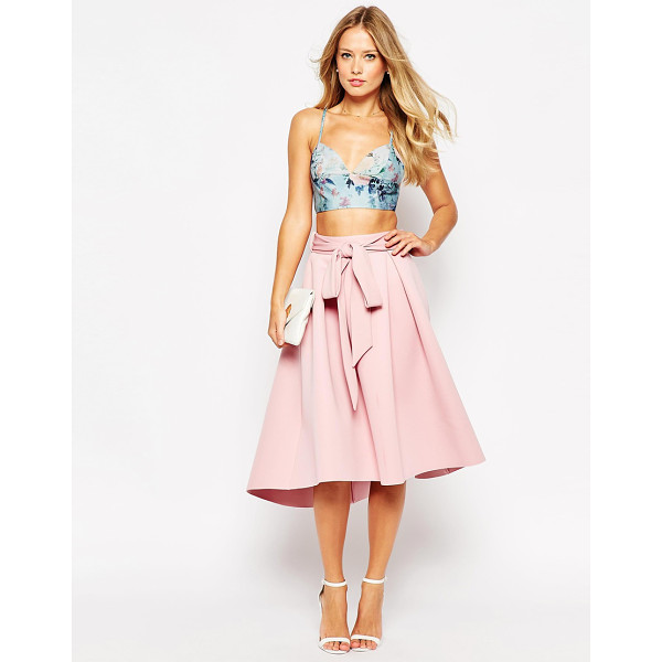 ASOS Premium bonded prom skirt - Midi skirt by ASOS Collection Lightweight scuba-style...