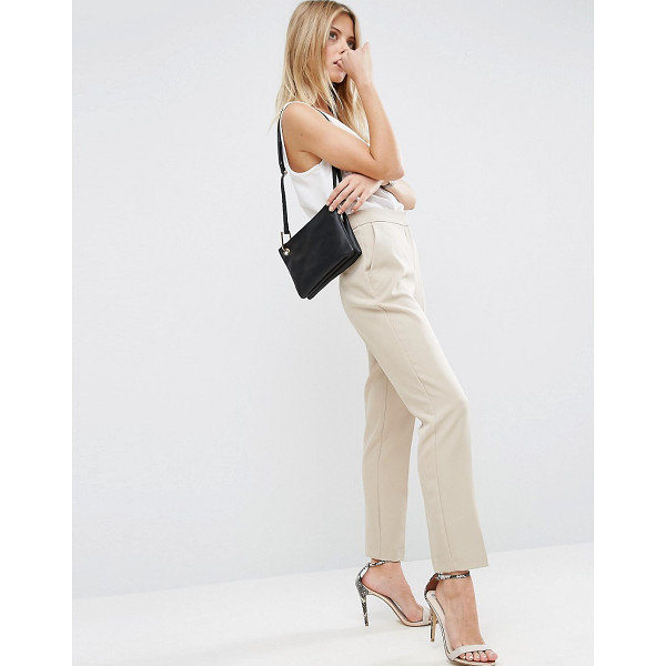 """ASOS Premium Clean Tailored Pants - """"""""Pants by ASOS Collection, Textured woven fabric,..."""