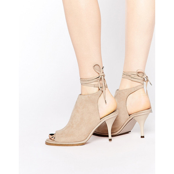 ASOS RELIZA Lace Up Shoe Boots - Boots by ASOS Collection, Suede-look upper, Lace-up...